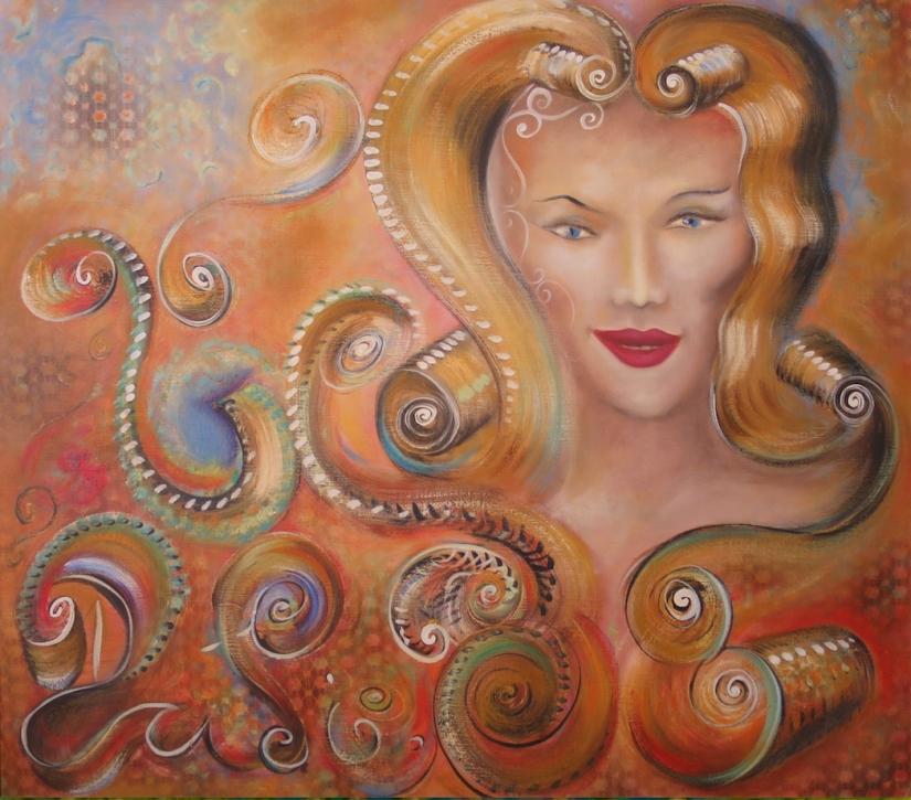 Skálda leifi. 80x70 1999