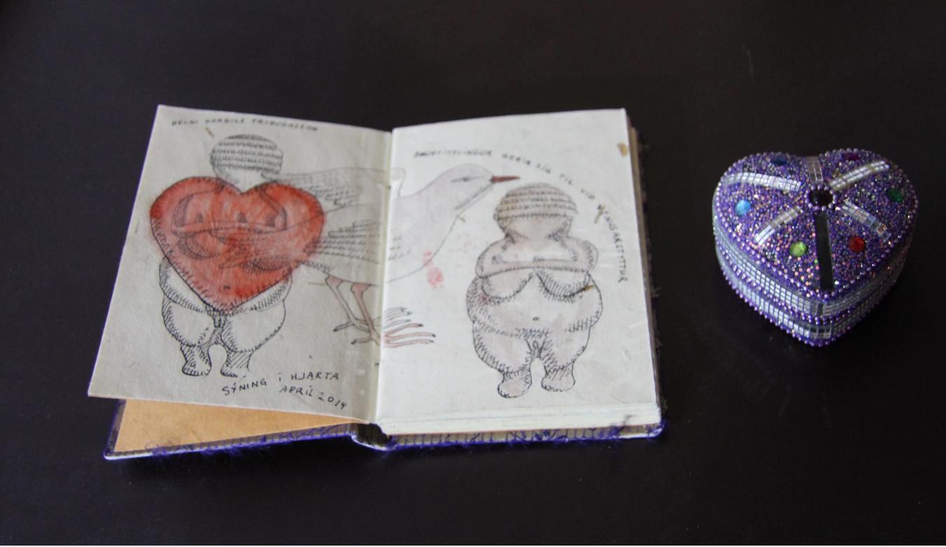 Gallery-heart-Icelandic-art
