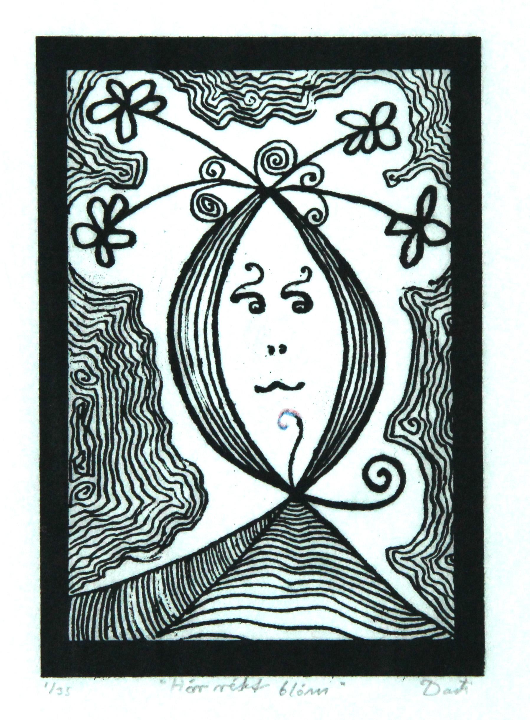 Correct-flower-art-print